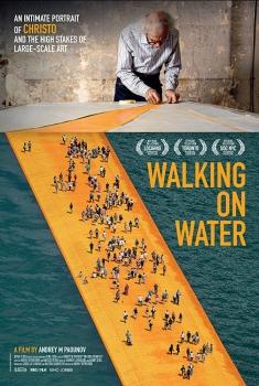 Christo - Walking on water (2018)